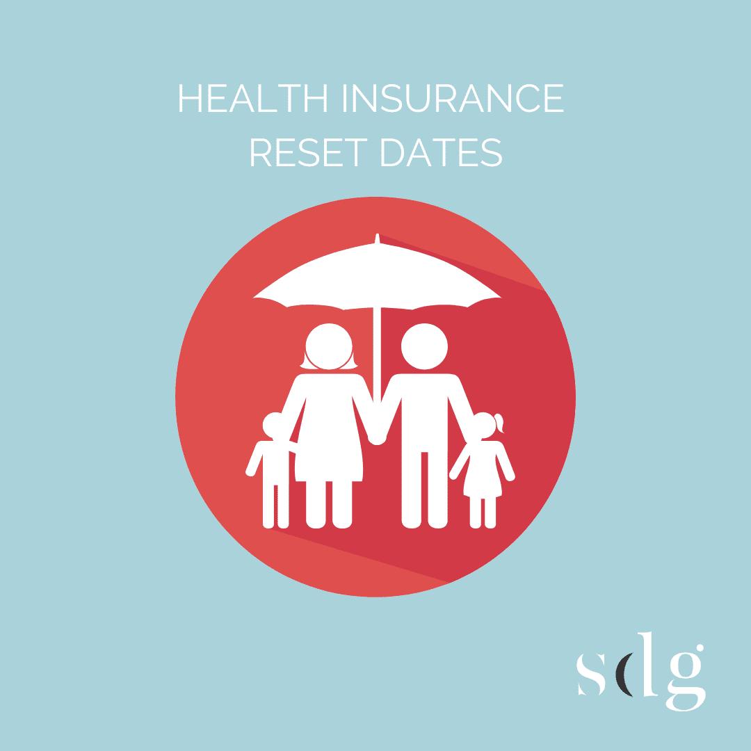 Health Insurance Reset Dates